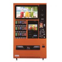 Wholesale Orange Snack Drink Beverage Vending Machine Debit / Credit Card / IC card Pay from china suppliers
