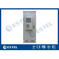 "Quality IP65 Thermostatic 19"" Equipment Outdoor Telecom Enclosure With Environment Monitoring System for sale"