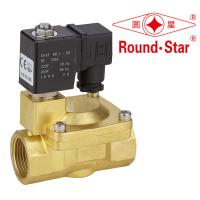 Wholesale 1 Inch Automatic Bistable Latching Solenoid Valve Pilot Operated Brass from china suppliers