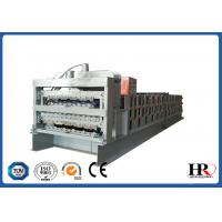 Wholesale Automatic three layers roof sheet color corrugated roof tile roll forming machine from china suppliers