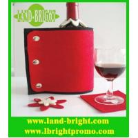Wholesale customized design 3mm thickness felt wine bottle holder from china suppliers