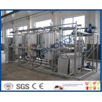 Wholesale 5TPH 10TPH Small Conjunct Type CIP Cleaning System for Manually / Semi - auto from china suppliers