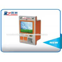 Wholesale Touch Screen Multimedia Wall Mount Kiosk With Card Reader And Bill Validator from china suppliers