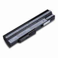 Wholesale 11.1V Laptop Battery for MSI U100, with 4,800mAh Capacity from china suppliers