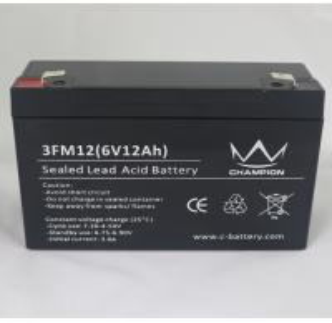 China 3FM12 6 Volt 12AH / 10AH AGM Lead Acid Batteries For Solar Power Stations on sale