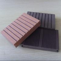 Wholesale 150 * 25mm Anti - UV WPC Deck Flooring For Garden / Corridor /  Swimming Pool from china suppliers
