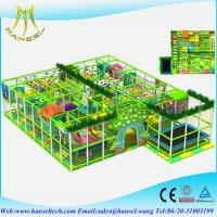 Wholesale Hansel  indoor playhouse with slide naughty castle suppliers   kiddie castle  theme park games  names of indoor games from china suppliers