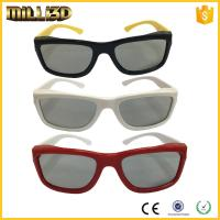 Buy cheap polarized custom real d plastic passive 3d glasses for cinemas from wholesalers