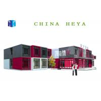 Wholesale High Performance Double Storey Prefab Houses Modular Sleeping Room Anti Impact from china suppliers