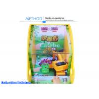 Quality Excavator game vending kids game machines yellow coin pusher for sale