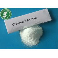 Wholesale High Pure Raw Steroid Powder Clostebol Acetate Turinabol For Muscle Mass CAS 855-19-6 from china suppliers