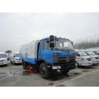 Wholesale Factory sale best price Dongfeng 153 190hp diesel road sweeping vehicle, hot sale cheaper dongfeng street sweeper truck from china suppliers