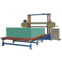 Wholesale Horizontal Polyurethane / PU Foam Cutting Machine For Sponge Block 8.12KW from china suppliers