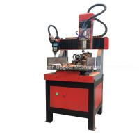 Wholesale Small 300*300mm 4 Axis CNC Engraving Cutting Machine from china suppliers