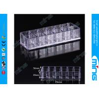 Buy cheap Customized Makeup Lipsticks Clear Acrylic Display Stands for Retail Stores from wholesalers