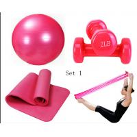 Wholesale Yoga package with Yoga ball & Yoga mat & Yoga dumbbell & Yoga pull belts from china suppliers