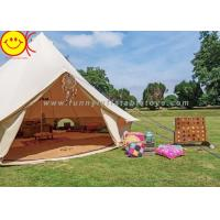 Wholesale 5+ Person Outdoor Cotton Canvas Glamping Mongolian Desert Family Camping Tent from china suppliers