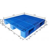 Wholesale Double Sides 4 Way Industrial Plastic Pallets Multi Color Option High Load Capacity from china suppliers