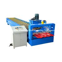 Buy cheap Steel Building IBR Roofing Sheet Cold Roll Forming Machine 19 rows from wholesalers