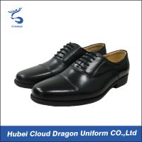 Wholesale Classic dress security work shoes / autumn black security shoes Removable insole from china suppliers