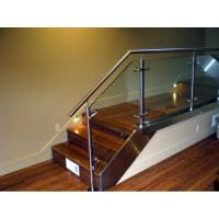 Wholesale Stainless steel handrail glass balustrade system from china suppliers