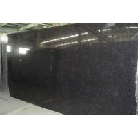 Wholesale Natural black galaxy Granite Stone Slabs for Indoor Outdoor decoration and construction from china suppliers