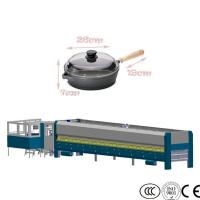Quality Cookware Glass Processing Equipment Pot Lid Glass Tempering Machine for sale