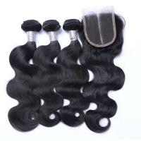 Buy cheap 7A Peruvian Lace Top Closure , Peruvian Body Wave Human Hair Extensions from wholesalers