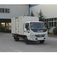 Wholesale FOTON 5ton load mass flat colored steel VAN TRUCK from china suppliers