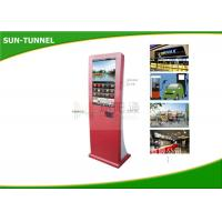 Wholesale Interative Inforamtion Accessd Bill Payment Kiosk Coupon Print / Receipt Printer Half Outdoor Kiosk from china suppliers