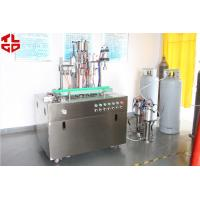 Wholesale 0.75-0.9Mpa Aerosol Spray Filling Machine For Flame Retardant Ribbons from china suppliers