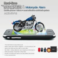 Wholesale RFV10 Remote-Control Motorcycle Security AGPS LBS Tracker W/ web tracking & Alarm by SMS from china suppliers