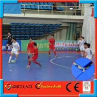 Wholesale Flat Interlocking Sports Flooring For Futsal Court , Resurfacing Floor from china suppliers