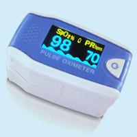 Wholesale Home Low Power Blue Fingertip Pulse Oximeter with Automatic Shutdown Function from china suppliers