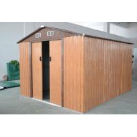 Wholesale Outdoor Gable Roof Metal Garden Storage Shed With Dual Ventilated Front Gables from china suppliers