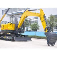 Buy cheap High Efficiency Excavator Heavy Equipment With 3245mm Digging Radius 45kw from wholesalers