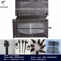 Wholesale nylon automotive  cable tie plastic injection mould factory from china suppliers