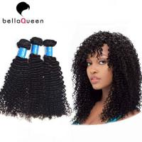 Wholesale 100% Natural Black Kinky Curly European Virgin Hair Of Human Hair Bundles from china suppliers