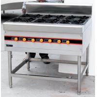 Wholesale Stainless Steel Floor Burner Cooking Range BGRL-1280 For Commercial Kitchen from china suppliers