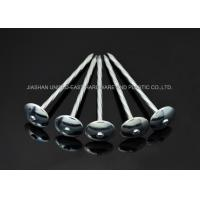 Wholesale Fix Iron Sheet Zinc Plated Nails ,  Twisted Shank 3 Inch Roofing Nails from china suppliers