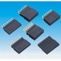 Wholesale Board Stackers 0.1 Inch Female Box Header Connector For Router Networking from china suppliers