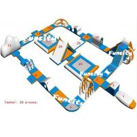Wholesale Hot - Welding Inflatable Water Parks / Aqua Park Resort 2 Years Warranty from china suppliers