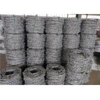 Wholesale Price Meter Security Barbed Wire In Egypt Zinc Coated 15kg / Coil Weight from china suppliers