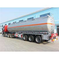 Wholesale Professional Heavy Duty Semi Trailers 42000L 45000 L 50000 L Oil / Fuel Tank Trailer from china suppliers
