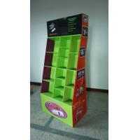 Wholesale Floor cardboard merchandising displays with hooks for Lazer products from china suppliers