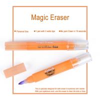 Wholesale Pink Magic Eraser for Eyebrows Skin Marker Pen Color Remover 10 Seconds from china suppliers