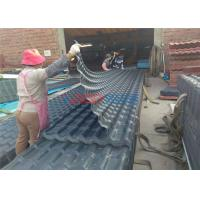 Quality Waterproof Glazed Tile Roll Forming Machine For Roof Panel 0.3 ~ 3m / Min for sale
