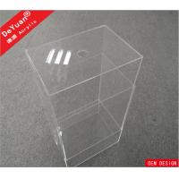 Wholesale Custom Size Clear Storage Box Perspex Shoe Box Logo Available OEM from china suppliers