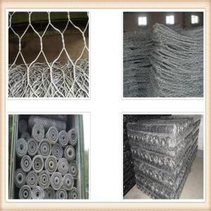 Wholesale 2016 Hot sale Galvanized Hexagonal Gabion Box / Welded Gabion Box from china suppliers