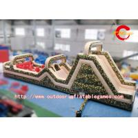 Wholesale Military Boot Camp Inflatable Obstacle Course Climbing Park For Children from china suppliers